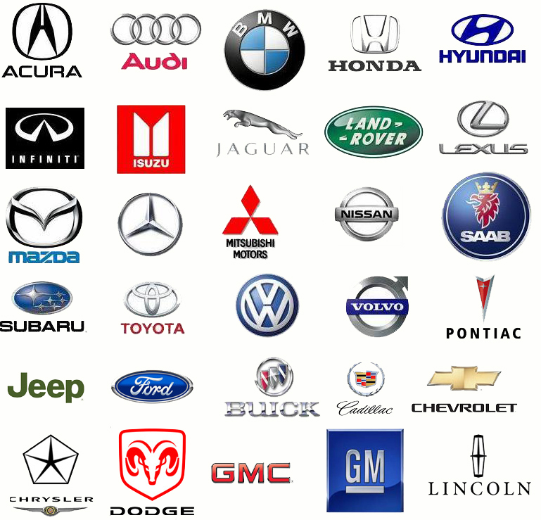 Car Symbols And Names List Free Download Oasis Dl